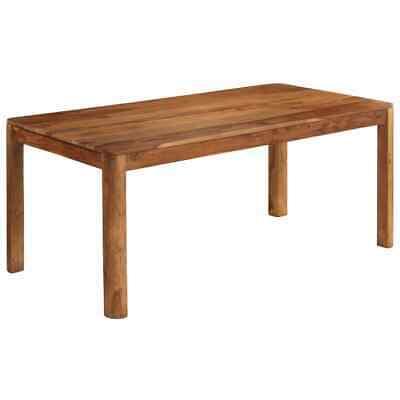 vidaXL Solid Sheesham Wood Dining Table 180x90x76cm Home