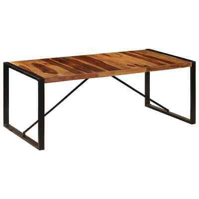 vidaXL Solid Sheesham Wood Dining Table Vintage Kitchen
