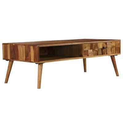 vidaXL Solid Sheesham Wood with Honey Finish Coffee Table