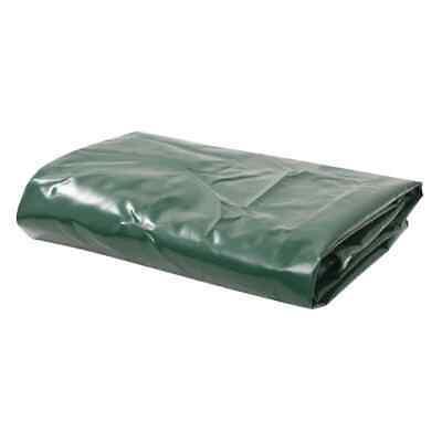vidaXL Tarpaulin 3.5x5m Green Ground Sheet Camping Furniture