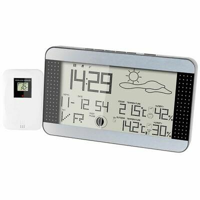 Alecto Wireless Weather Station Indoor Outdoor Temperature