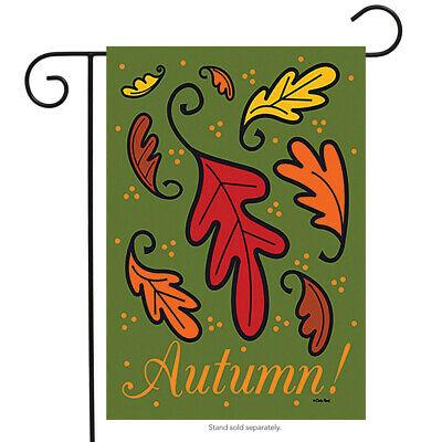 """Autumn Leaves Seasonal Garden Flag Fall Turning Leaves 12.5"""""""