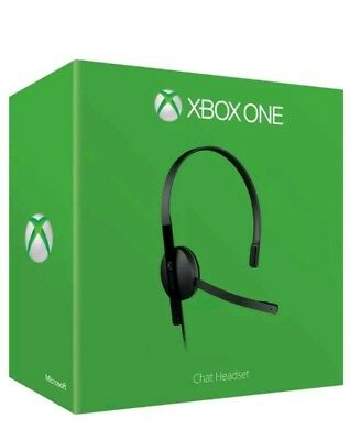 BRAND NEW Official Xbox One Chat Headset. Boxed! & ONLY