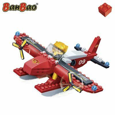 BanBao Fire Brigade Seaplane Children Building Toy