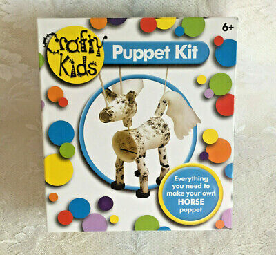 Crafty Kids Puppet Kit~Make Your Own 'Horse' Puppet~Age