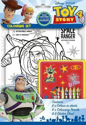 Disney Pixar Toy Story 4 Colouring Set Childrens Activity