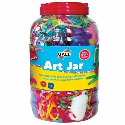 Galt Toys Children Kids Mega Craft Art Jar DIY Sequin Decor