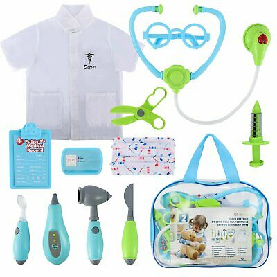 Kids Doctor Kit 12 Pcs Pretend Doctor Role Play Pretend Play