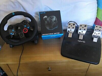 Logitech G29 Racing Wheel,Pedal and Shifter mint condition
