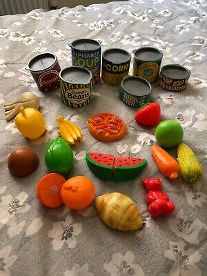 MELISSA & DOUG LETS PLAY HOUSE CANNED FOOD KIDS TOY GROCERY