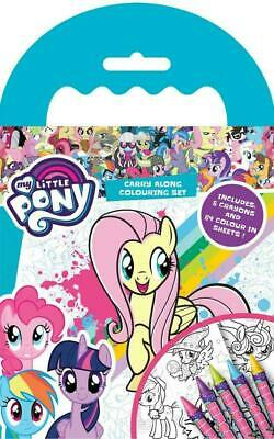 My Little Pony Carry Along Colouring Book Travel Set With 5