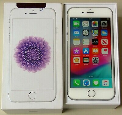 Apple iPhone 6 - 64GB - White / Silver Unlocked A (CDMA