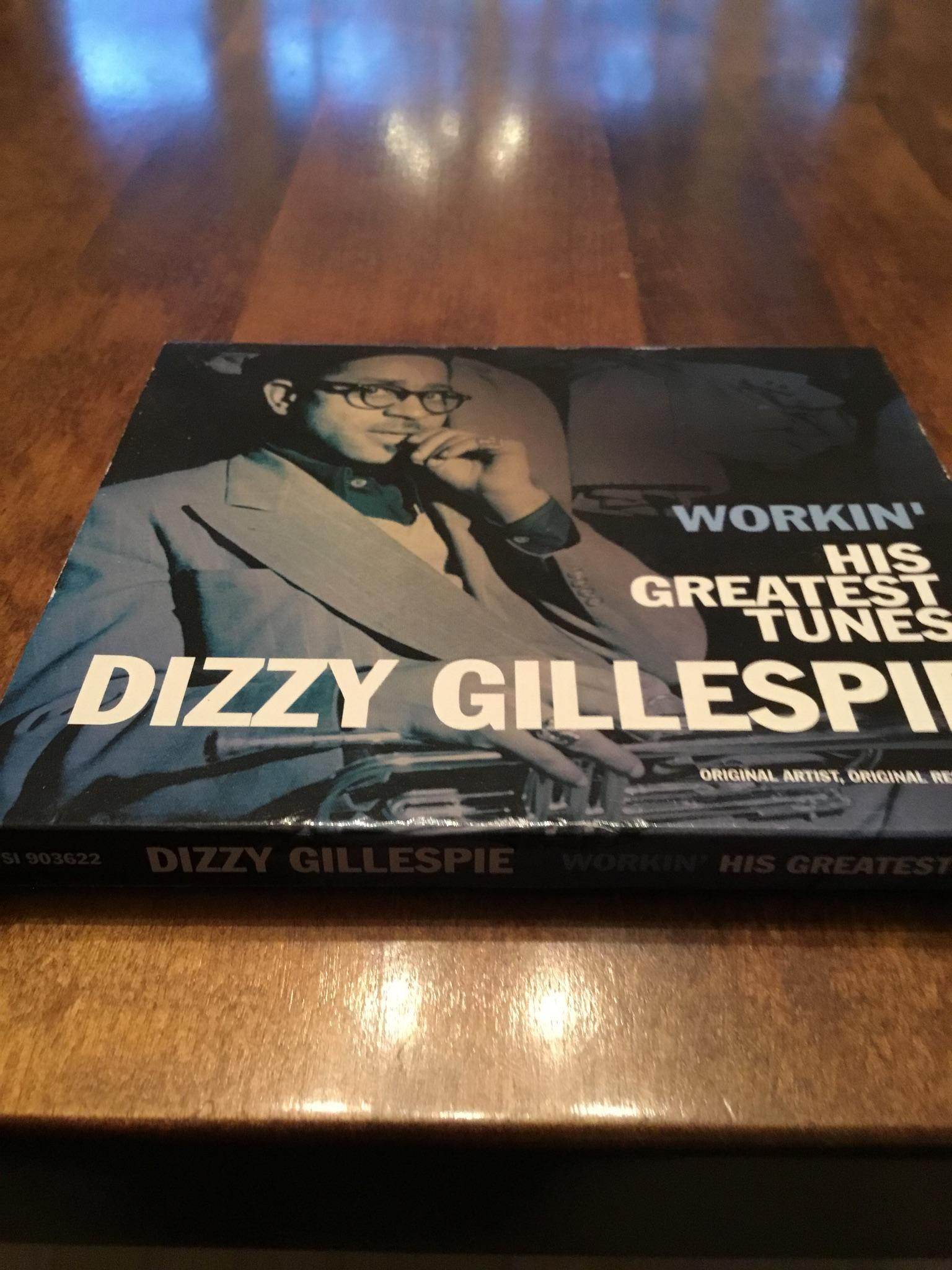Four CDs. Dizzy Gillespie, his greatest hits; Jazzis; the