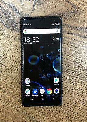 Sony Xperia XZ3 64GB Black Unlocked Smartphone Good