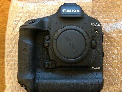 Canon EOS 1DX Mark II 20.2 Digital SLR Camera - Black (Body