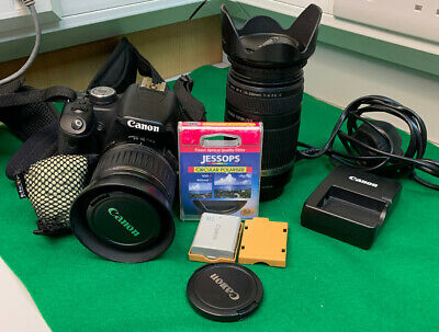 Canon EOS 500D 15.1MP Digital SLR Camera Black mm