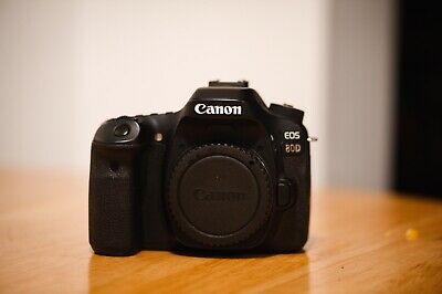 Canon EOS 80D 24.2MP DSLR Camera - (Body Only) With Vertical
