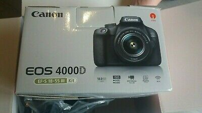 Canon EOS D 18 MP Digital Camera with EF-S mm III