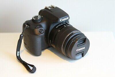Canon EOS D 18 MP Digital SLR Camera Kit - Black