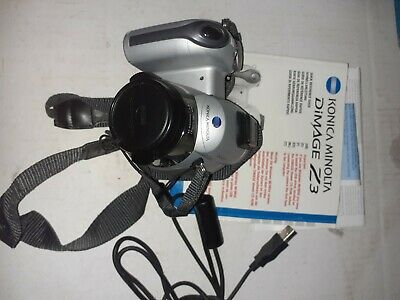 Konica Minolta DiMAGE Z3 4.0MP Digital Camera - Silver