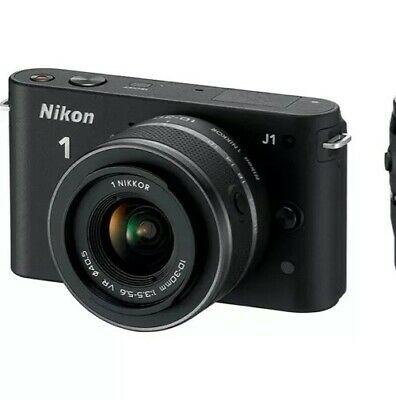 Nikon 1 JMP Digital Camera - Black (Kit w/ VR mm