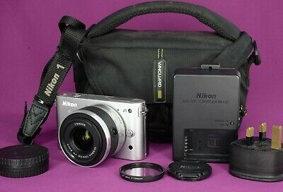 Nikon 1 JMP Digital Camera SILVER (Kit w/ VR mm