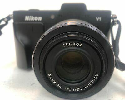Nikon 1 V1 Digital Camera - Black Nikon 1 Nikkor VR mm