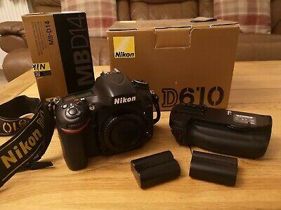 Nikon D DMP Digital SLR Camera - Black FULL FRAME &