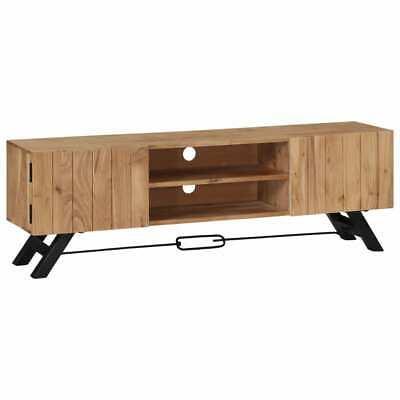 vidaXL Solid Acacia Wood TV Cabinet 140x30x45cm Stand