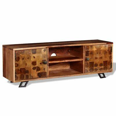 vidaXL Solid Sheesham Wood TV Cabinet 120x30x40 cm