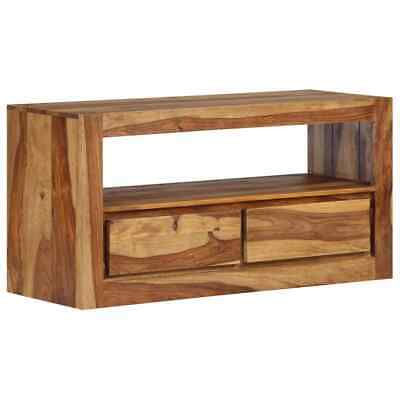 vidaXL Solid Sheesham Wood TV Cabinet 80x30x40cm HiFi Stand