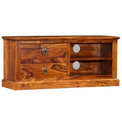 vidaXL Solid Sheesham Wood TV Cabinet 90x30x40cm HiFi