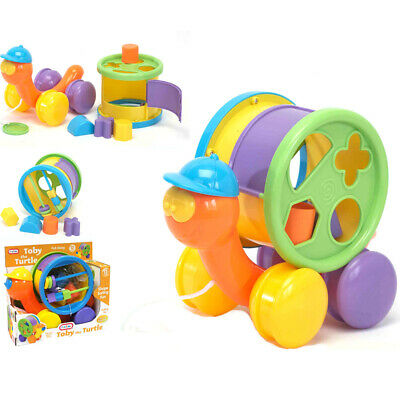 Funtime Toby the Turtle Shape Sorter Pull Along Learn and