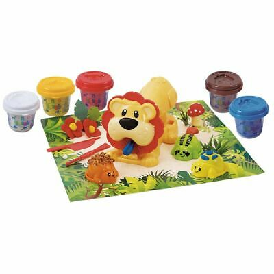 Playgo Jungle Animal Press Children Kids Play Dough Art