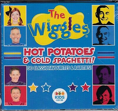 The Wiggles Hot Potatoes & Cold Spaghetti Sealed CD