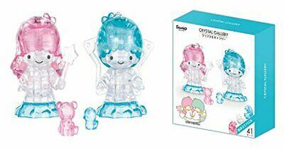 Hanayama Crystal Gallery 3D Puzzle Sanrio Little Twin Stars