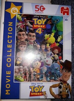 Jumbo Disney Pixar Toy Story 4 Movie Collection 50 pieces
