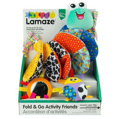 LC Lamaze Fold & Go Activity Friends Sensory Pram Car
