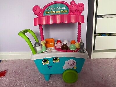 LeapFrog  Scoop & Learn Ice Cream Cart, Multicolour