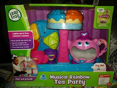 Leapfrog Musical Rainbow Tea Party brand new in box