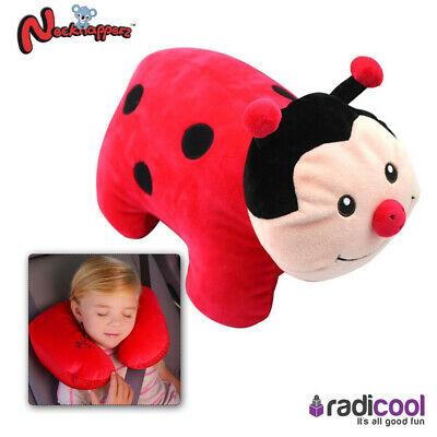 Necknapperz Dotty the Ladybug Children's Soft Toy Converts