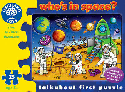 Orchard Toys 221 Who's in Space? Kids Childrens Talkabout