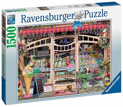 Ravensburger Ice Cream Shop Jigsaw Puzzle  Pieces