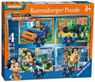 Ravensburger Rusty Rivets 4 in a Box Jigsaw Puzzle