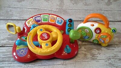 VTECH TINY TOT DRIVER AND ROCK AND ROLL RADIO