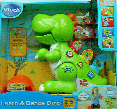 VTech Learn & Dance Dino Interactive and Educational Toy For