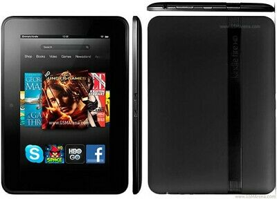 Amazon Kindle Fire HD 7 16GB 2nd Gen X43Z60 Wifi Black Fast