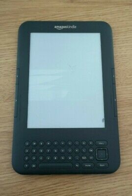 Amazon Kindle Keyboard 3rd Gen 4GB Wi-Fi 3G Graphite D