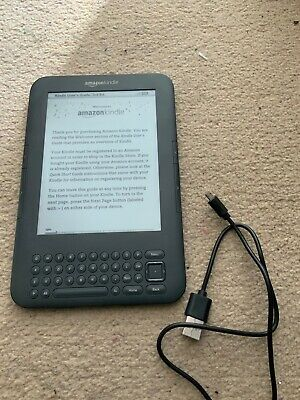 Amazon Kindle Keyboard - Graphite - Used, excellent