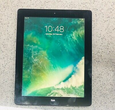 Apple iPad 4th Gen. 32GB, Wi-Fi + Cellular (Unlocked), 9.7in